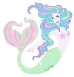 Mermaid logo by LadyDuela
