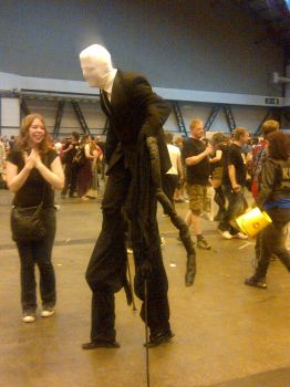 Slender man - London Film and comic con by Gread96