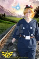 Link on the Tracks by crimsonmansion
