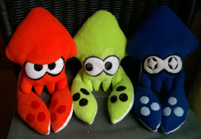 Splatoon Inkling Squids by KestrelAlanza