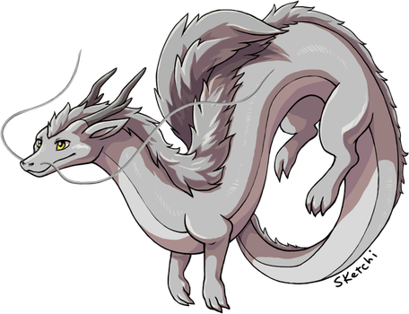 eastern dragon for CS by sketchi