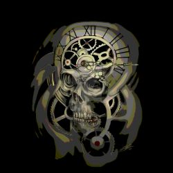 Time Skull by Sands-Studio