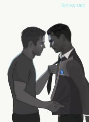 Connor x Gavin by Bitchatude