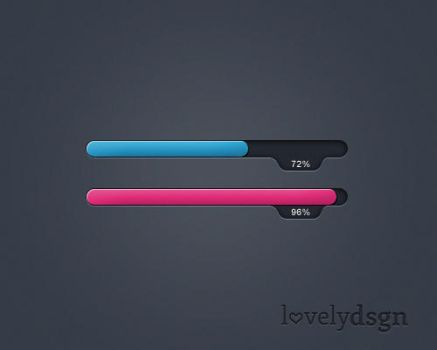 Free Progress / Loading Bar by lovelydsgn