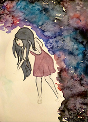 Marceline in the Sky with Diamonds by maryemm57