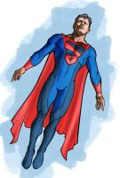 Superman Redesign by ezy-e