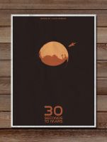 Minimalist Posters: 30 seconds by LucasBariani