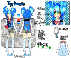 Toy Bonnie New Reference by SooJi-Oh