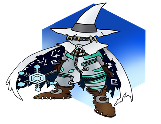 Comission - Noble Wizard by KunYKA