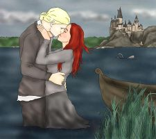 Kiss in the Lake by x8xdanix6x
