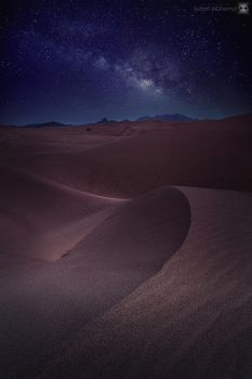 desert vs stars by sultan-alghamdi