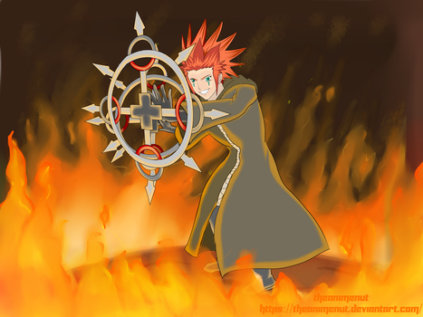 Raffle Prize: Axel by theAnimeNut