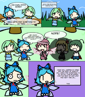 Amazing Adventure of Cirno 1 by DalekSec1