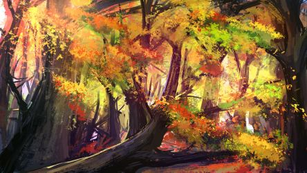 forest study 2 by Sayta0