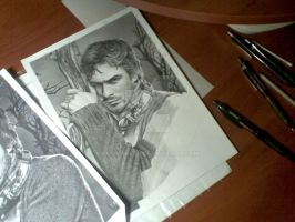 Ian-Somerhalder wip 2 by FairyARTos