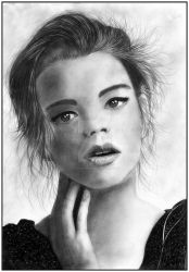 Anya Taylor-Joy by loic-drawing