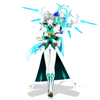 [MMD x Elsword] Ainchase Ishmael by Artsy-Cup