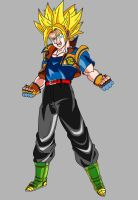 Teen Goken (Super Saiyan) V1 by MAD-54