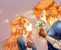 Breath of The wild Thanks for 500 Watchers by Arumy
