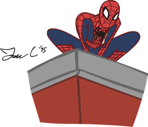 Friendly Neighborhood Spider-Man - Jon Style by JonCausith
