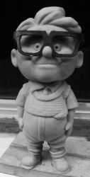 Carl Fredricksen kid by renatothally