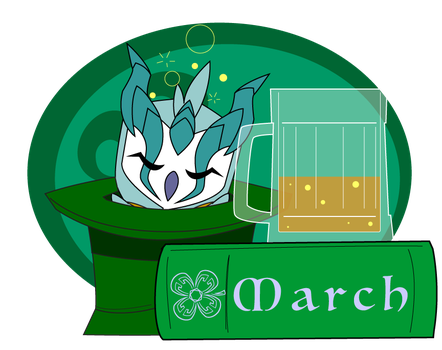Monthly Owl - March 2018 by Dragon-FangX