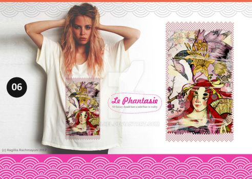 Le Phantasie, Illustration Tshirt 08 by Eijiel