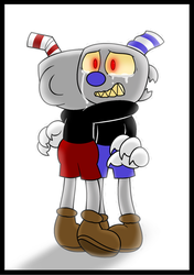 Cuphead-I want my little brother back again... by Nikytale