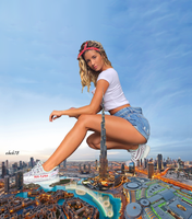 Sierra Skye giantess by eheh78