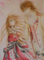 Vampire Knight: Kaname and Yuki by 28maeko