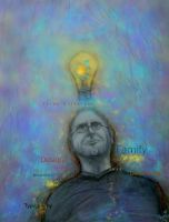 Steve Jobs and His Bright Idea by tessieart333