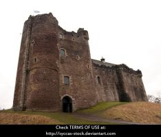 Doune Castle by syccas-stock