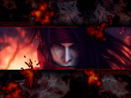Vincent Valentine wallpaper 2 by Hallucination-Walker