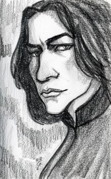 Severus Snape by DiStDi