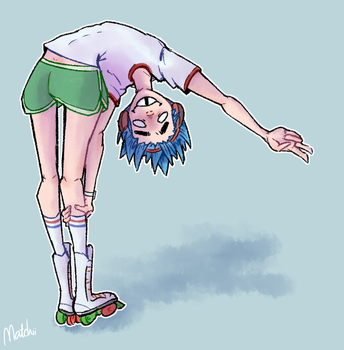 2D Humility by MatchiiTea