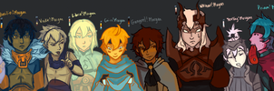 Council of Morgans by DemonangelXD