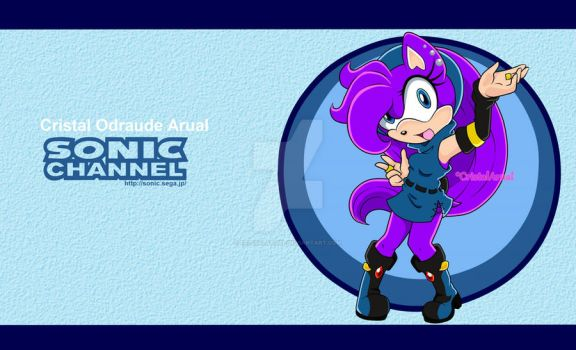 Cristal in SonicChannel by CristalArual