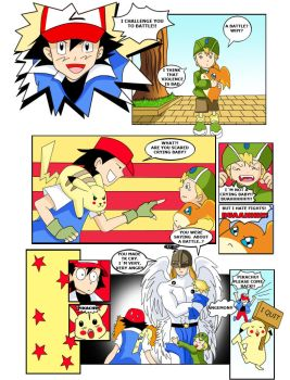 pokemon vs digimon ...sure by Ayhelenk