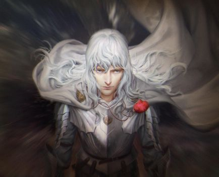 Griffith Berserk by janaschi