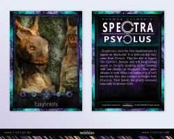Spectra Psyclus -Exophrenic(s) character by R1Design