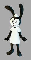 Epic Mickey - Fanny Cottontail by LudiculousPegasus