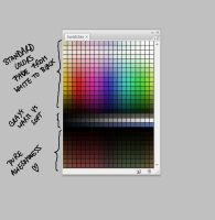 Color Palette for Photoshop by Norke