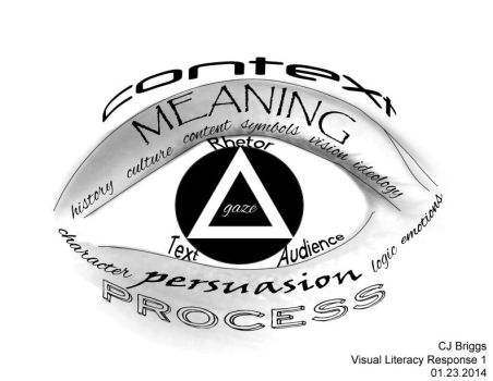 Visual Lit 01 - What is Visual Rhetoric? by artisticTaurean