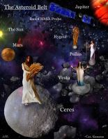 Ceres and The Asteroid Belt [2] by Can-Cat