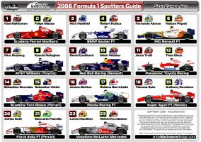 F1 Spotters Guide 2008 by andyblackmoredesign