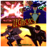Legacies of the DCAU - Online Advertisement by JTSEntertainment