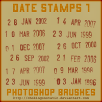 date stamp brushes 1 by chokingonstatic