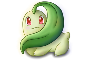My Little Chikorita by Beagon