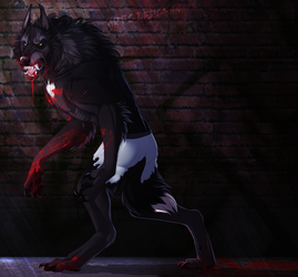 Backstreet Wolf by dergenn