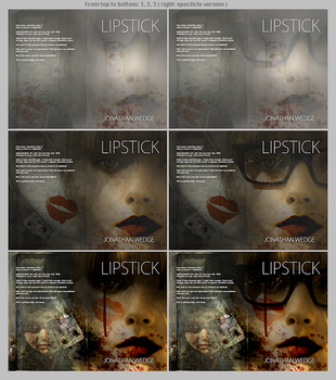 Book Cover WIP Lipstick Example Types by ameshin